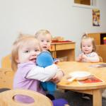 children in Community Child Care Center Infant and Toddler Program