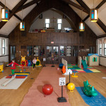 large playroom at Community Child Care Center