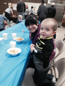 a family event at Community Child Care Center